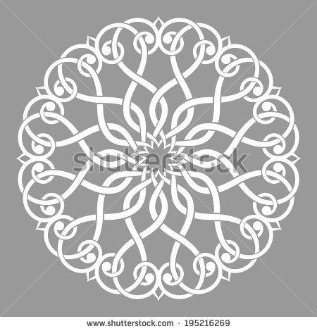 Arabesque decor. Mandala. Vector Illustration.