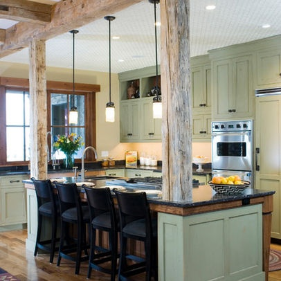 Kitchen Exposed Structural Beam Design Ideas Pictures
