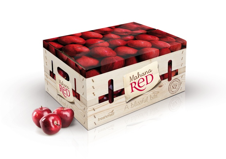 Mahana Red packaging, New Zealand.