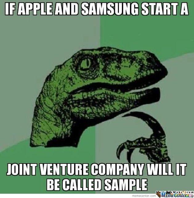 Samsung Vs Apple Memes