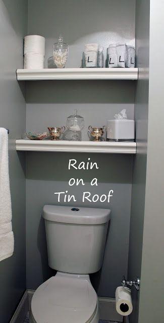 25 Best Ideas About Shelves Above Toilet On Pinterest