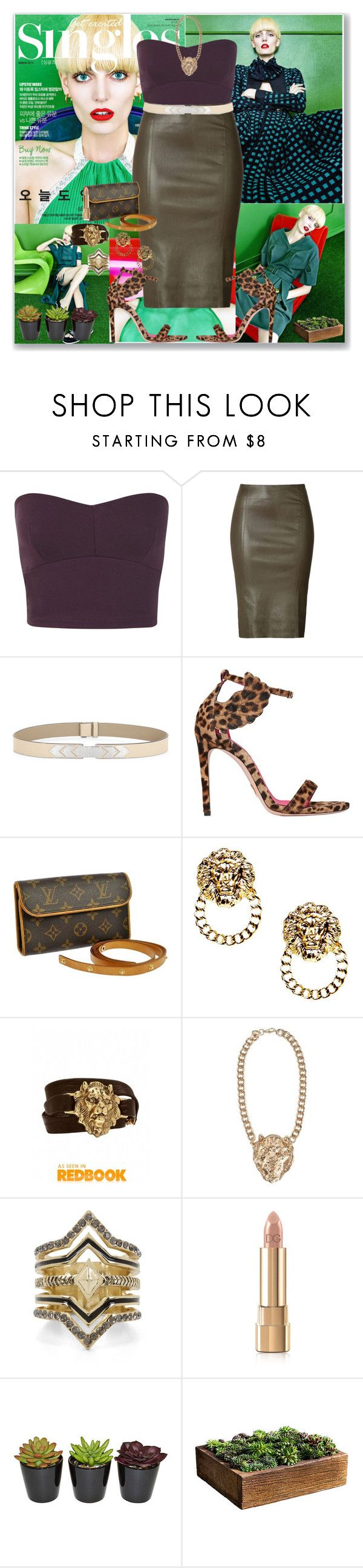 """""""Natural in Nature!!!"""" by veronicawantscurves on Polyvore featuring Miss Selfridge, Jitrois, BCBGMAXAZRIA, Oscar Tiye, Louis Vuitton, Boohoo, Alexandra Beth Designs, NLY Trend, BCBGeneration and Dolce&Gabbana"""