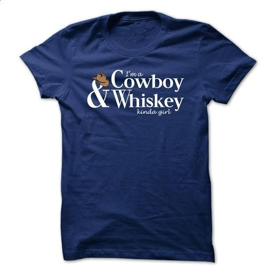 Cowboy & Whiskey Girl - #design t shirts #first tee. MORE INFO => https://www.sunfrog.com/LifeStyle/Cowboy-amp-Whiskey-Girl-Ladies.html?60505