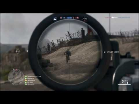 Battlefield 1 Sniping Montage 11/04/2016