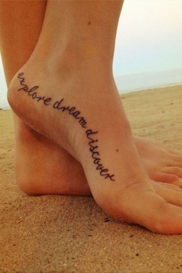 Tattoos on foot: 20 creative ideas and designs