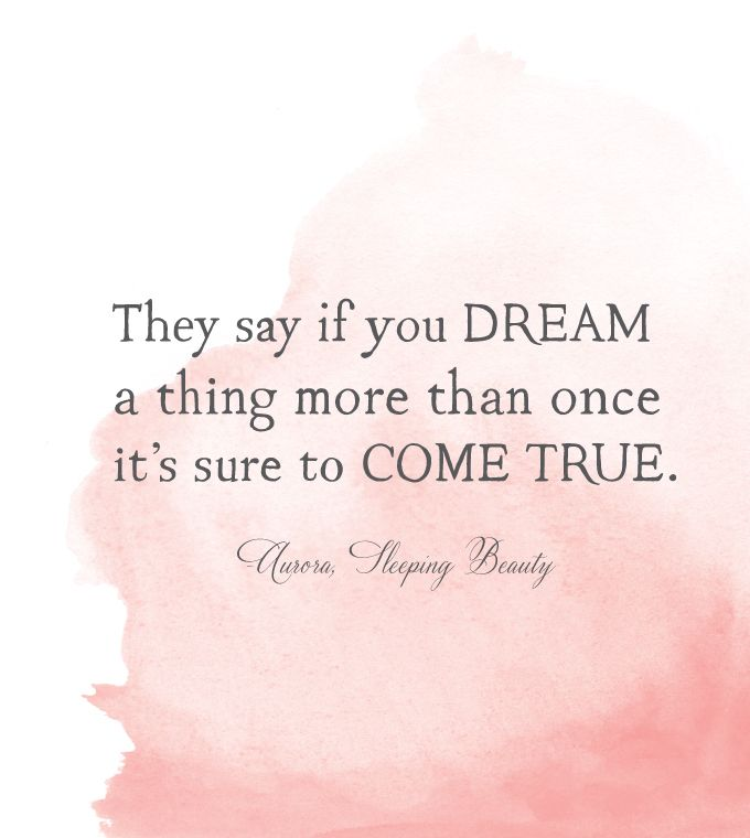 Image result for they say if you dream a thing more than once it s sure to come  true quote c5705692ba1
