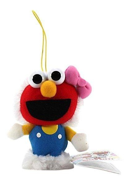 "Furyu Hello Kitty Sesame Street Plush Strap - 3214 - 5"" Hello Kitty Elmo A new collaboration for the most famous cat in the world! Sanrio just announced that they will release new items for... More Details"
