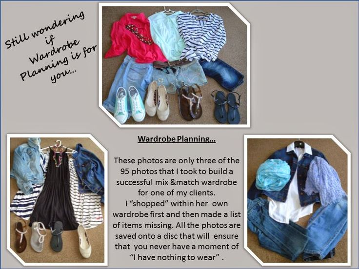 Fashionably Yours: Wardrobe Planning is there to make your life easie...