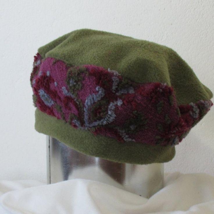 New kid in town. Warm and cosy fleece beret, enjoy
