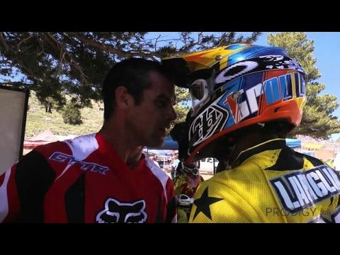 Attitude and fights in motocross 90's