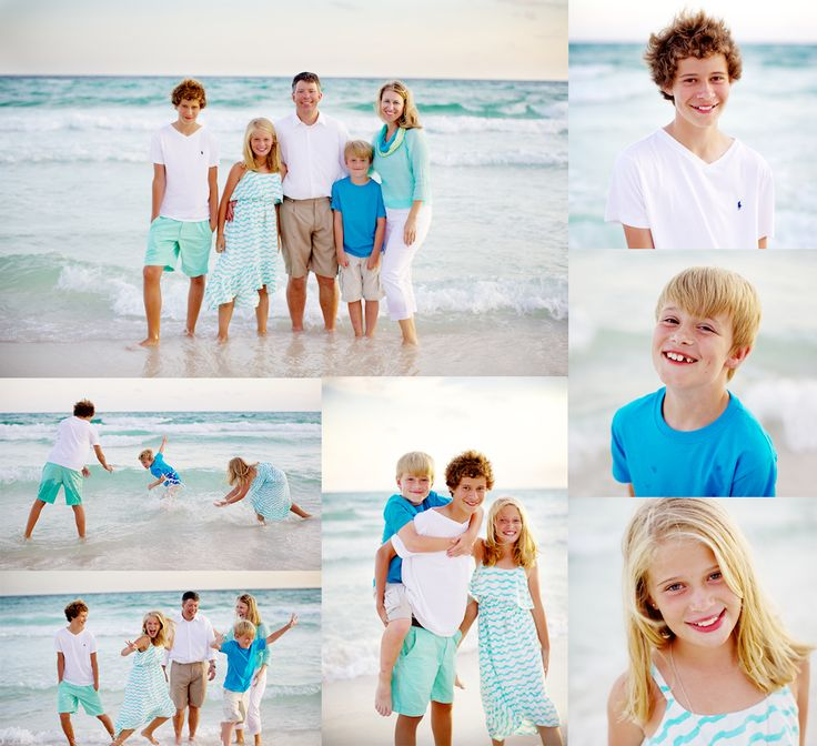 Family Pictures In The Beach: Kids & Family Beach Photos In Rosemary Beach By Cocoa L