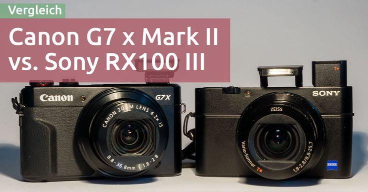 Welche ist die richtige Edel-Kompaktkamera für dich, die Canon G7 X oder die Sony RX100? Ich habe beide Kameras für dich verglichen. Hier meine Meinung dazu