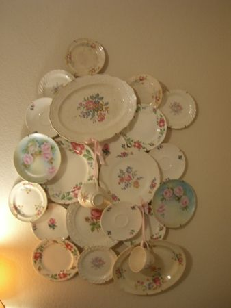 Plate collage (from Cherry Hill Cottage)