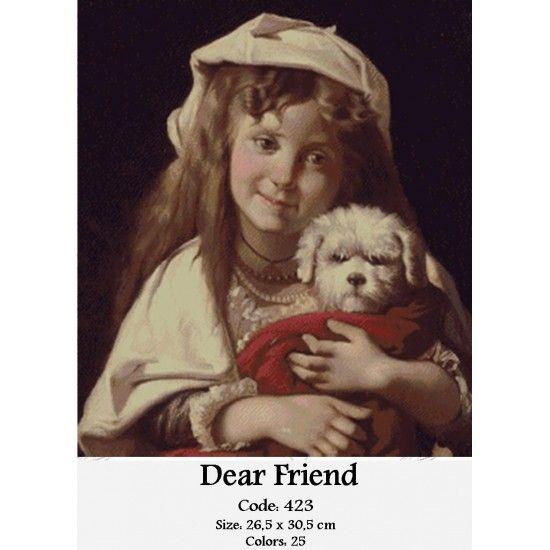 Gobelin Set Dear Friend http://gobelins-tapestry.com/portraits/870-dear-friend.html