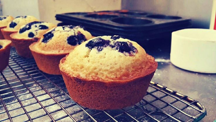 #blueberry friands