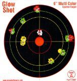 """60 Pack - 6"""" Reactive Splatter Targets - GlowShot - Multi Color - See Your Hits Instantly - Gun & Rifle Targets - Glow Shot - Seach Glowshot for all our 6"""", 8"""" & 10"""" Packs"""