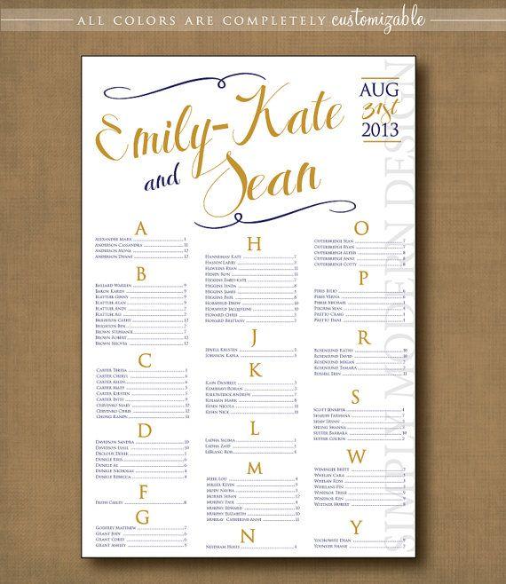 swirls wedding seating chart, PRINTABLE #wedding #seatingchart