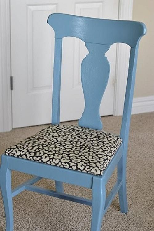 185 best chalky paint projects images on pinterest for Paint office chair