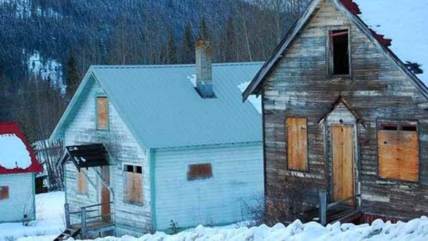 Bradian, a ghost town in British Columbia, on the market for just under $1M | CTV News