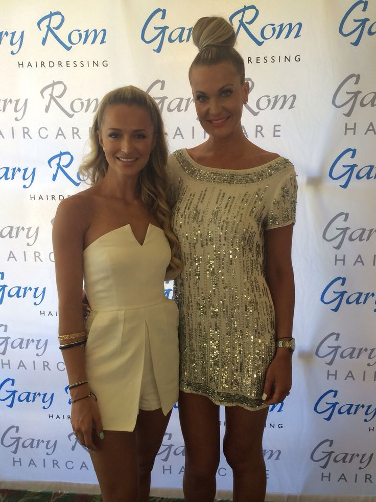 Melinda Bam and Claudia Henkel at The Style Affair hosted at Sun City