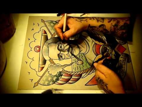 11 best Tattoo Instructional Watercolor Flash Art Videos images on ...