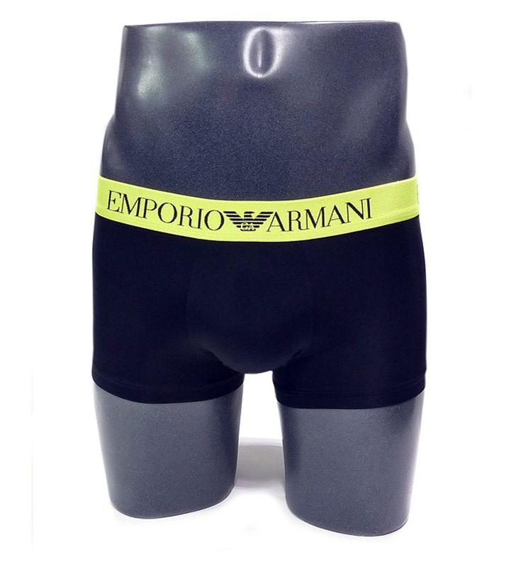 SLIP ARMANI de ropa interior, nuevo modelo de boxer para hombre pensado como ropa interior o prenda de baño. Microfibra muy suave. Más en varelaintimo.com