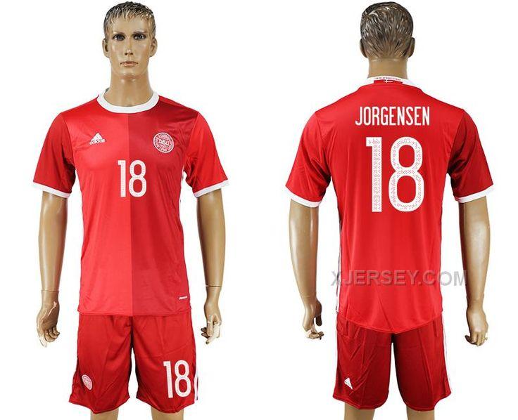 http://www.xjersey.com/201617-denmark-18-jorgensen-home-soccer-jersey.html 2016-17 DENMARK 18 JORGENSEN HOME SOCCER JERSEY Only $35.00 , Free Shipping!