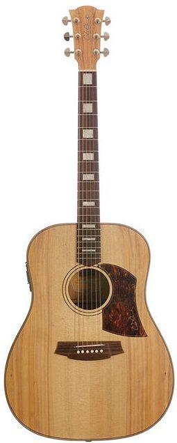 Cole Clark Guitars Fat Lady II Series CCFL2E-BM Bunya Top w Queensland Maple