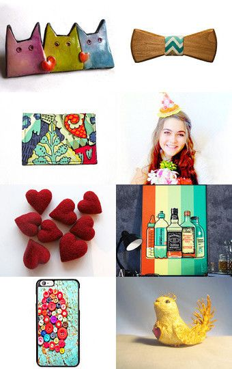 Happy 1st of February! by LaurenceCollection on Etsy--Pinned with TreasuryPin.com
