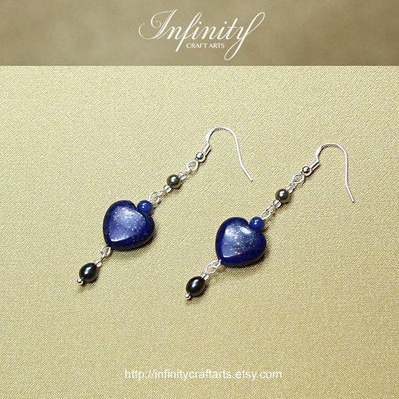 #Gemstone #Lapis #Lazuli #earrings #Pyrite by #InfinityCraftArts on Etsy https://www.etsy.com/ca/listing/238906515/gemstone-lapis-lazuli-earringspyrite?ref=shop_home_active_8