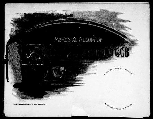Memorial album of Sir John A. Macdonald G.C.B. by