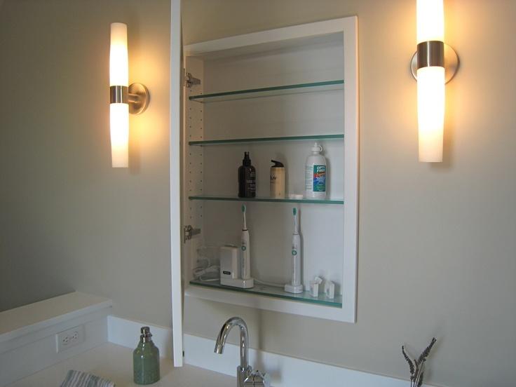 outlet in medicine cabinet bathroom pinterest medicine medicine