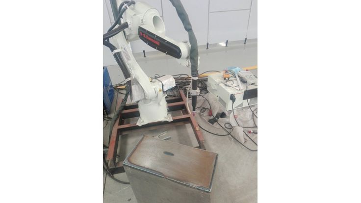 Robot TIG Welding Machine Stainless Steel Cylindrical Tank
