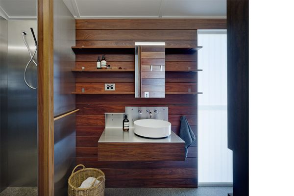 Timber Clad Bathroom_Keiron Gait Architects