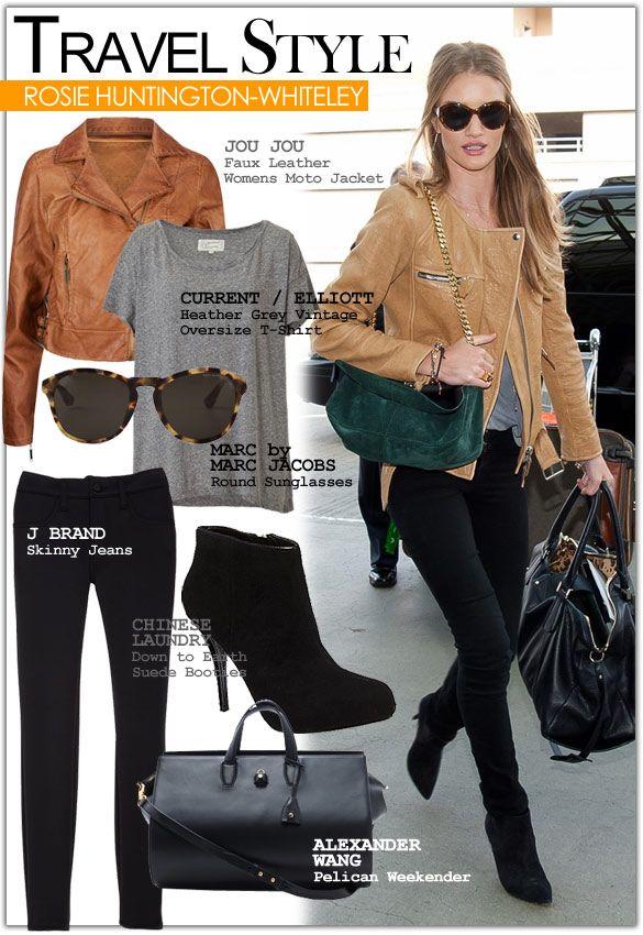Travel Style Inspiration: Rosie Huntington-Whiteley