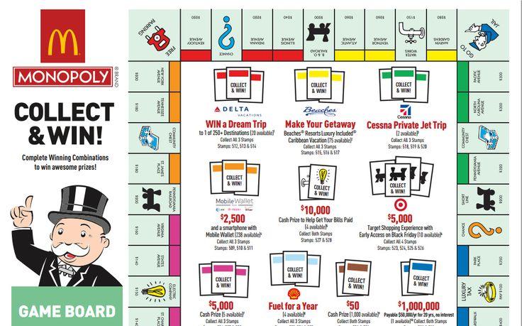McDonald's Monopoly Rare Game Pieces - Saving Advice Articles