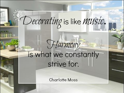 Design Element Harmony Decor Quote Interiordesign