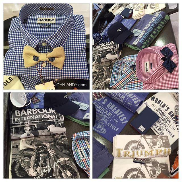#johnandy #mencollection #barbour #tshirt #shirts #bowtie #call_for_orders #00302109703888  Shop the look :https://www.john-andy.com/gr/brands/barbour-men.html?limit=all