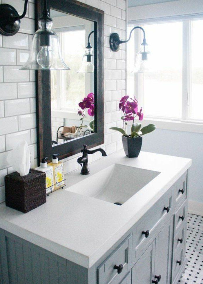 les 25 meilleures id es concernant cadres de miroir en carrelage sur pinterest miroirs de. Black Bedroom Furniture Sets. Home Design Ideas