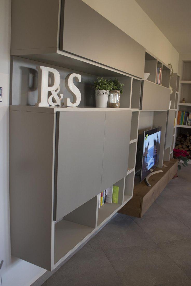 Oltre 25 fantastiche idee su parete libreria su pinterest - Scaffali a parete ...