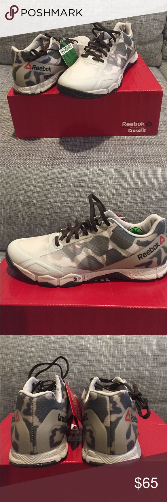 Reebok Crossfit speed training sneaker. Size 9 Reebok Crossfit speed training sneaker. Size 9. Sand/green/alloy/brown. Never worn  USA 9, UK 8, EUR 42 Reebok Shoes Athletic Shoes