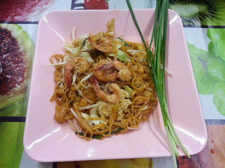 Phat Thai z krewetkami