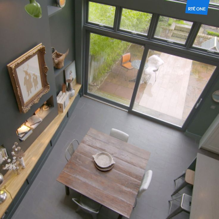 Carla Benedetti lives in a renovated Victorian house in South County Dublin. (Episode 7)