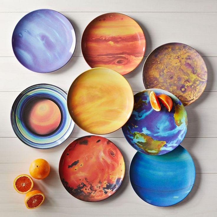 Assiettes Planètes