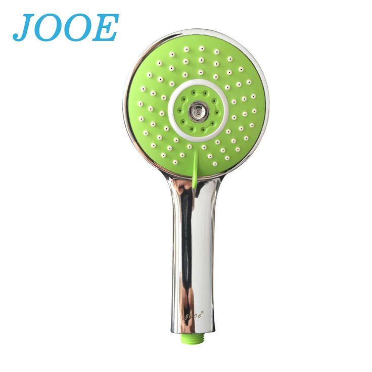 jooe Water Saving Shower Heads Multi functions Round Chrome Hand Hold Bath showerhead Bathroom Accessories ducha chuveiro