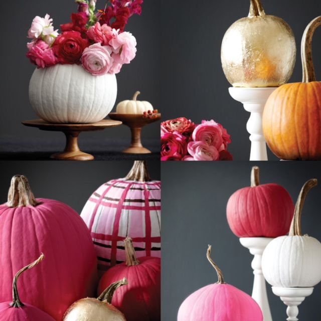 8 best images about fall weddings on pinterest navy Flower painted pumpkins