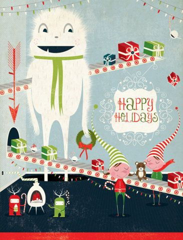Happy Holidays #Christmas #printable