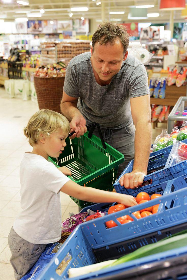 U kunt lekker veel verse producten in de supermarkt halen!