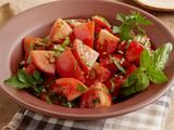 Marinated Tomato Salad with Herbs Recipe-Want to try this with fresh tomatoes