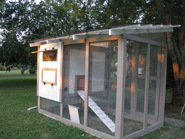48 best chicken coop ideas images on pinterest chicken for Small chicken house plans
